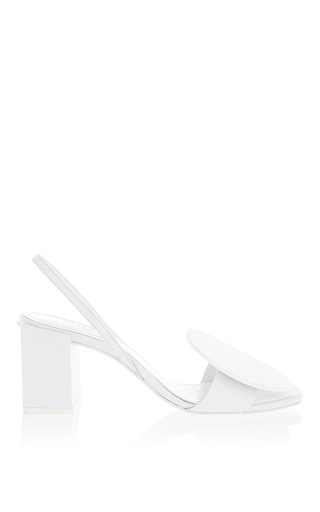 Round Leather Heel by JACQUEMUS Now Available on Moda Operandi