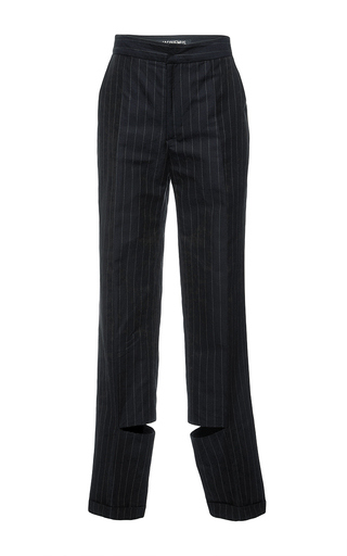 Medium jacquemus navy striped linen pant