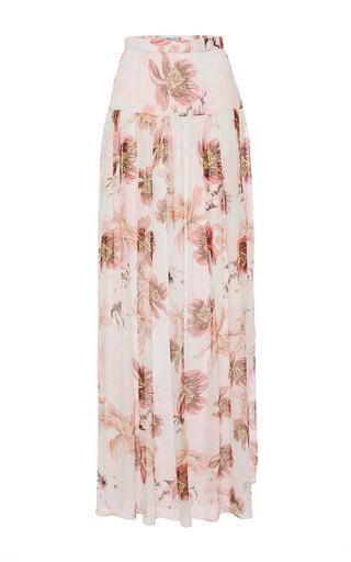Medium blumarine floral floral maxi skirt