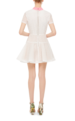 Short Sleeve Brie Mini Dress by ALEX PERRY Now Available on Moda Operandi