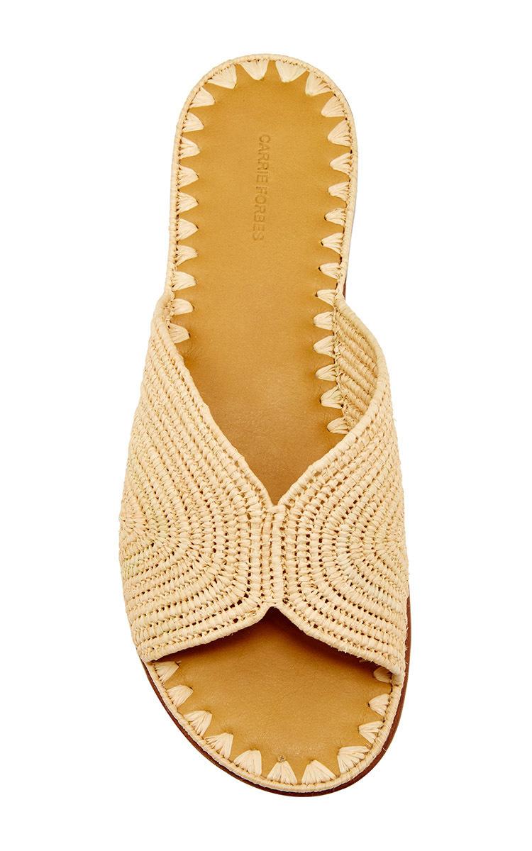 Raffia sandals Carrie Forbes lUW7D
