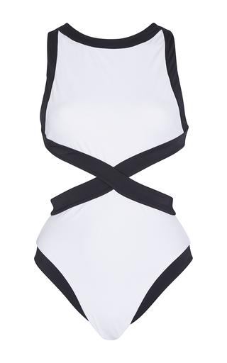 Medium oye white kerry maillot