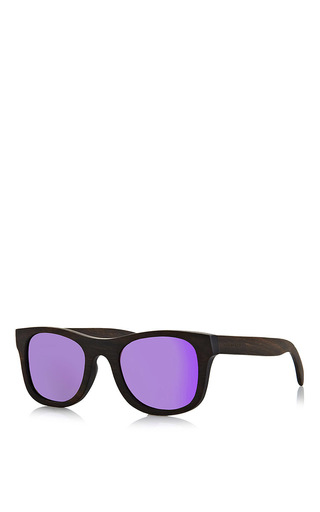 Medium finlay co black ledbury purple mirror sunglasses