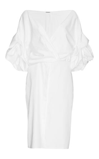 Medium johanna ortiz white white cotton tuxedo dress