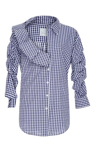 Medium johanna ortiz navy cellophane flower shirt