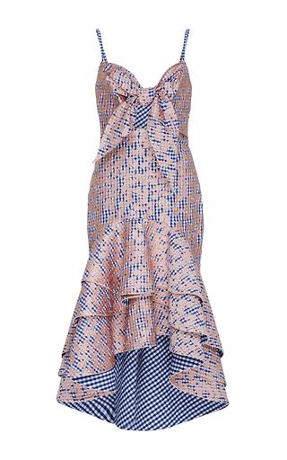 Cotton Camelia Embroidered Dress by JOHANNA ORTIZ Now Available on Moda Operandi