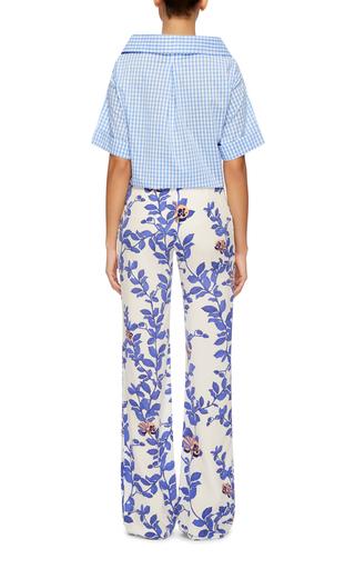 Floral Printed Silk Pants by JOHANNA ORTIZ Now Available on Moda Operandi