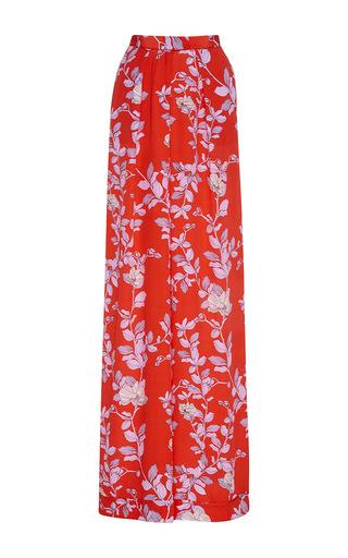 Silk Printed Te Borbon Pants by JOHANNA ORTIZ Now Available on Moda Operandi