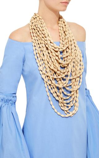Mona Island Multi Strand Beaded Necklace by ERIKA PENA Now Available on Moda Operandi