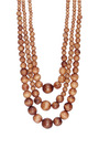 Two In One Beaded Necklace With Long Tassel by ERIKA PENA Now Available on Moda Operandi