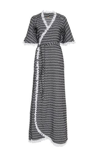 Cristina Maxi Wrap Dress  by DODO BAR OR Now Available on Moda Operandi