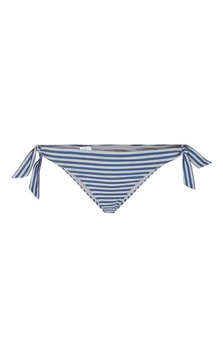 Medium la perla dark grey sailor stripes tie side bottom