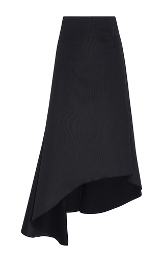 Medium ellery black paris asymmetrical skirt