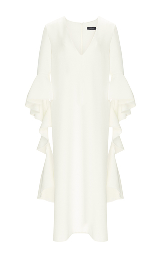 Advance Dress With Draped Sleeves by ELLERY Now Available on Moda Operandi