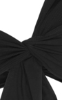 Venice One Shoulder Bikini Top With Knot Front by MARYSIA SWIM Now Available on Moda Operandi