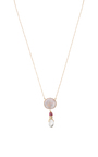 Full Moon Necklace by DANIELA VILLEGAS Now Available on Moda Operandi