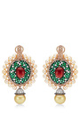One Of A Kind Sultan's Treasure Pendant Earrings by ABELLAN NEW YORK Now Available on Moda Operandi