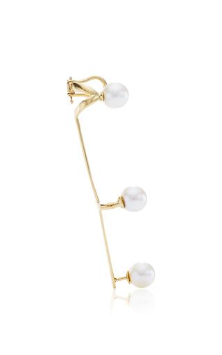 Jane 18 K Yellow Gold Single Ear Cuff by ANA KHOURI Now Available on Moda Operandi