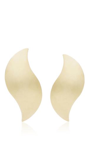Medium ana khouri gold annabel 18k yellow gold earrings