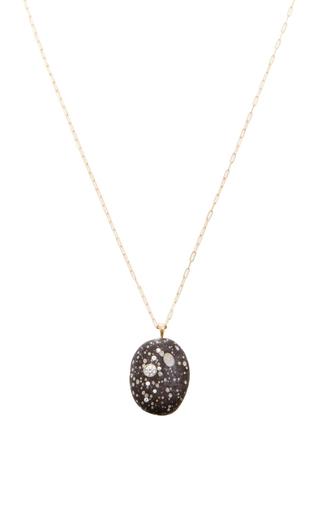 One Of A Kind Nebulae Stone And Diamond Necklace by CVC STONES Now Available on Moda Operandi