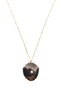 One Of A Kind Dusk Stone And Diamond Necklace by CVC STONES Now Available on Moda Operandi