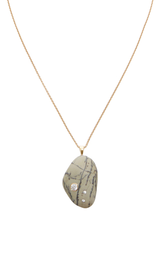 One Of A Kind Asuka Stone And Diamond Necklace by CVC STONES Now Available on Moda Operandi