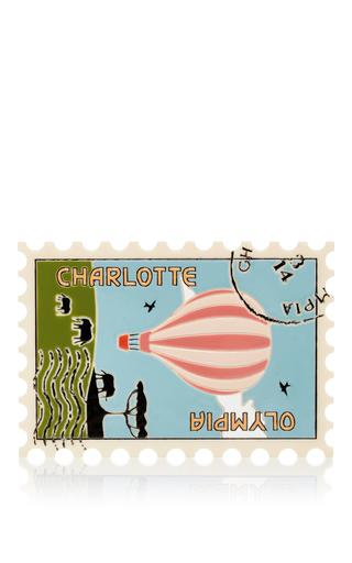 Medium charlotte olympia multi first class stamp clutch