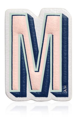Medium anya hindmarch light pink chalk capra m sticker