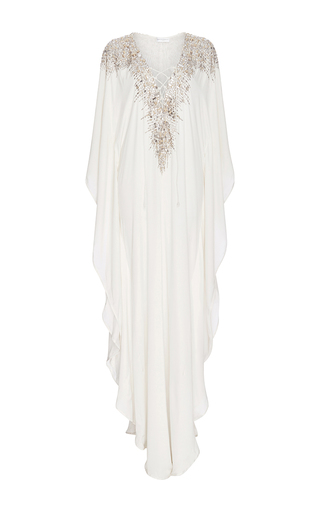 Medium amanda wakeley white white embellishment caftan