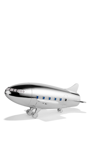 Medium asprey silver sterling silver aeroplane cocktail shaker