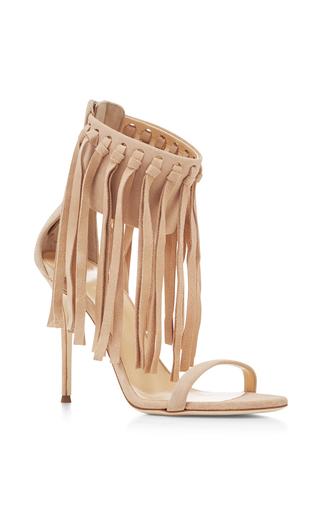 Medium giuseppe zanotti nude mistico fringed sandals