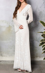 Cotton Embroidered Caftan by LUISA BECCARIA Now Available on Moda Operandi