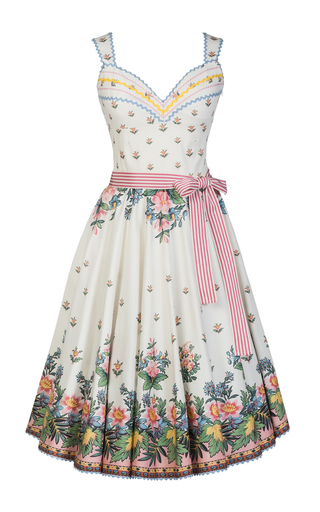 Medium lena hoschek ivory paradis dress