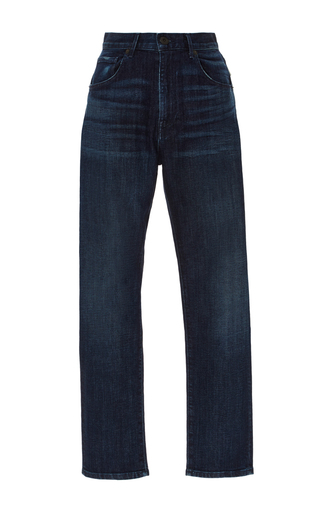 Super High Rise Cropped Boyfriend Jeans by 3X1 Now Available on Moda Operandi