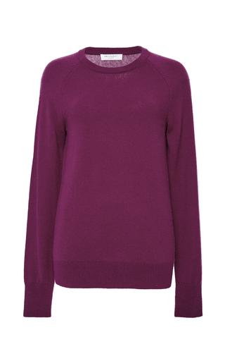 Medium equipment burgundy dark red cashmere sloane crewneck sweater
