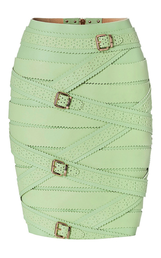 Medium marina hoermanseder green green strap skirt