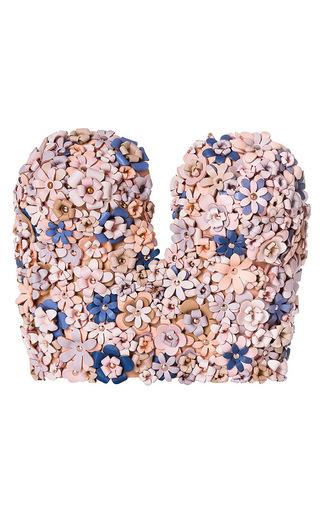 Medium marina hoermanseder light pink flower corset