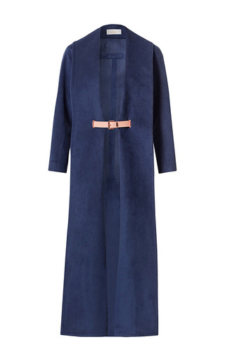 Medium marina hoermanseder blue komodor coat