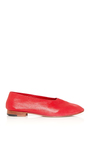 Glove Flat In Red by MARTINIANO Now Available on Moda Operandi