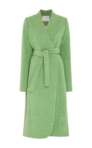 Medium mark kenly domino tan green tundra coat