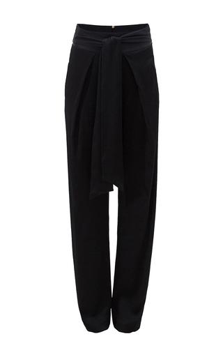 Medium bruuns bazaar black adaliz trousers