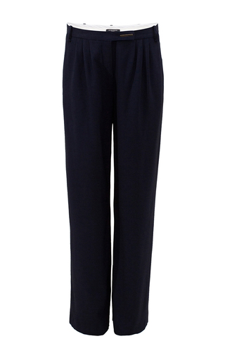 Medium bruuns bazaar navy malvina trousers