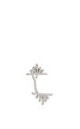 14k White Gold And Diamond Sunrise Single Earring by EF COLLECTION Now Available on Moda Operandi