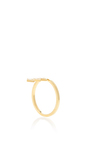 18k Gold And Diamonds Single Burst Ring by AZLEE Now Available on Moda Operandi