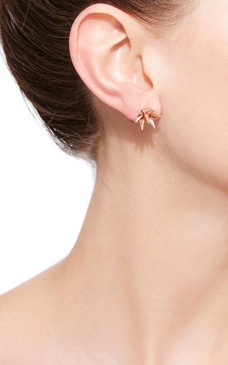 Rose Gold Hedgehog Ear Cuff by KARMA EL KHALIL Now Available on Moda Operandi