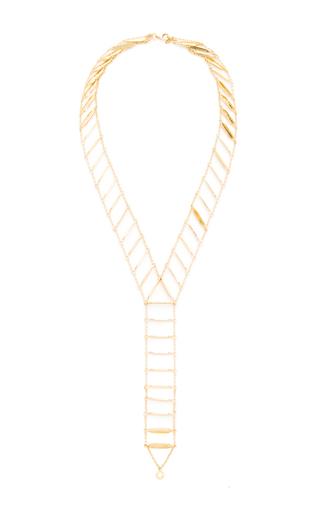 Medium karma el khalil gold gold drop ladder chocker