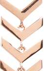 Rose Gold And Diamond Snake Earrings by KARMA EL KHALIL Now Available on Moda Operandi
