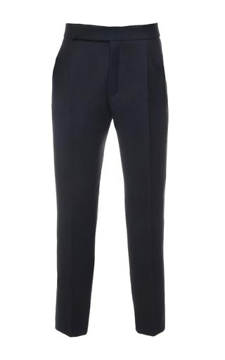 Medium dice kayek black smoking trouser