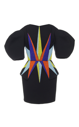 Medium dice kayek black basquiat dress