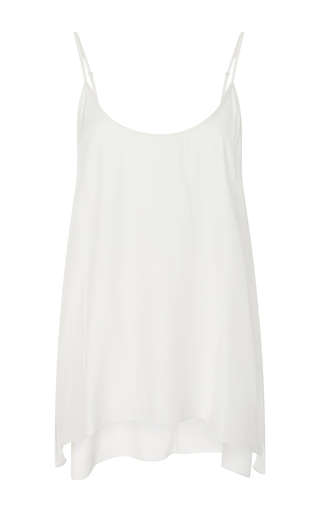 Medium atm off white silk scoop neck cami